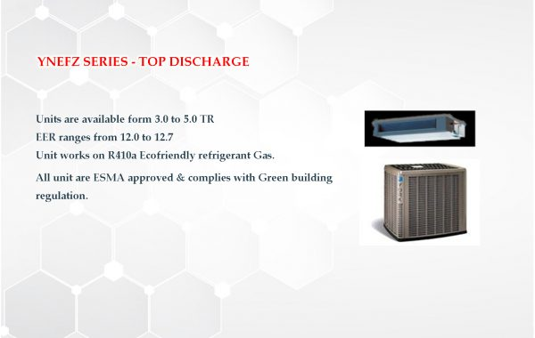 YNEFZ SERIES – TOP DISCHARGE