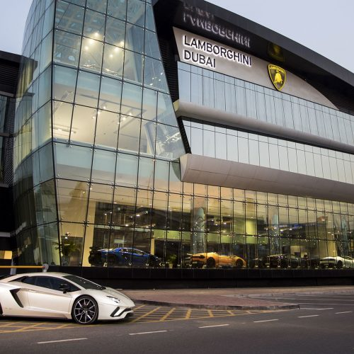 Lamborgini Showroom